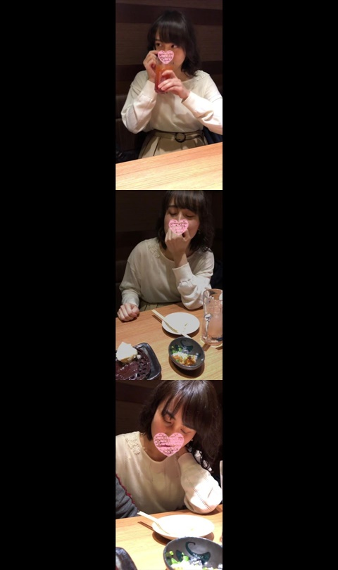 エロさが圧倒的に進化♥♥居酒屋からのホテルSEXからのお泊りSEX!!【個人撮影】