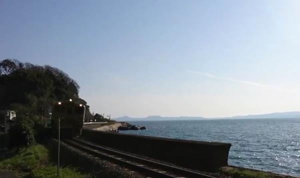 JR九州スイーツトレイン或る列車